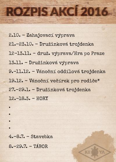 rozpis akci zs 2016
